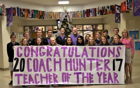 Bryan Hunter is DHS Teacher of the Year