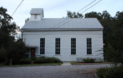 City of Daphne Old Methodist Church and Museum which is filled with the history of Daphne.