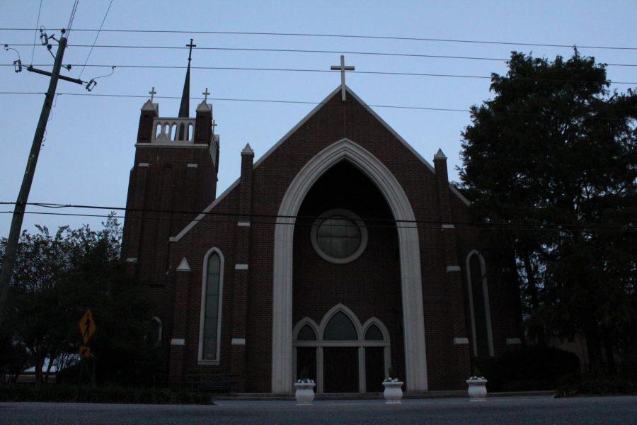 Daphne Catholic church