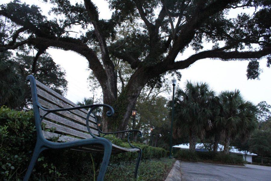 Photographed outside Daphne City Hall