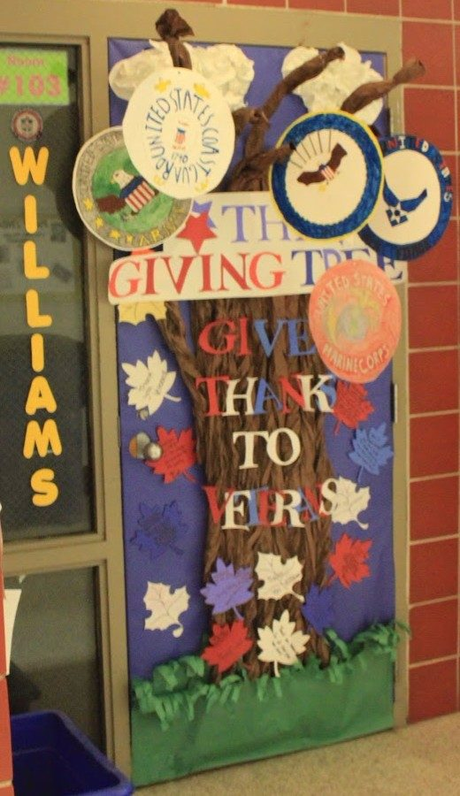 The 2017 winning door made by Coach Williams and his Parthenon class