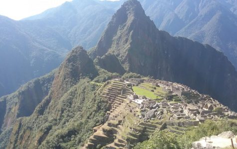 Photo overlooking Machu Picchu taken by a student.