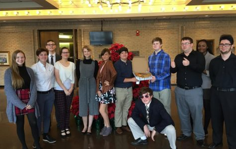 13 students from Daphne High participated in Model UN that was held in the Fairhope Civic Center on Wednesday and Thursday