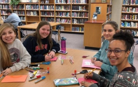 Key Club Gives Love to Patients at Women & Children's Hospital
