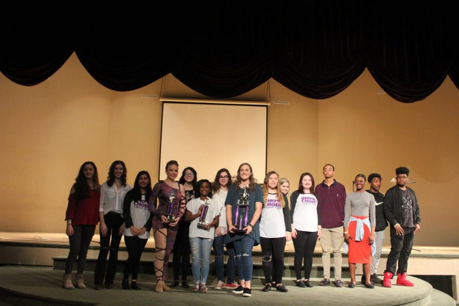 DHS talent show participants.