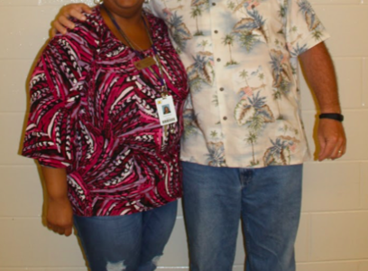 Ms. Brown and Coach Hunter Retire